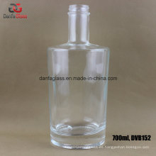 750ml botellas de cristal para los espíritus superiores estupendos