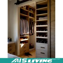 Placard fait sur commande de garde-robe de chambre à coucher en bois (AIS-W350)
