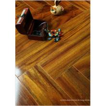 12.3mm HDF-Spiegel-Ahorn-schallabsorbierender lamellierter Fußboden