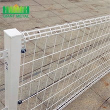 BRC Galvanized wire mesh pagar dawai pagar double circle