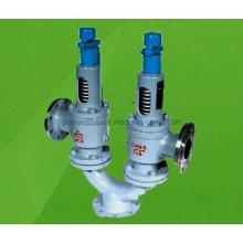 Válvula de seguridad de elevación alta de resorte doble de doble puerto A38y