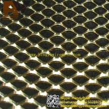 Telas arquitetônicas Folha de metal expandido de alumínio