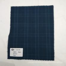 Al por mayor en la acción de alta calidad de lana de poliéster mezclado tela cruzada para traje uniforme