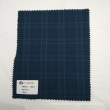 Wholesale in stock high quality wool polyester blended twill fabric for suit uniform