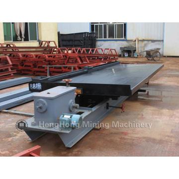 Table de secousse de machine d'extraction d'or avec le taux de récupération élevé
