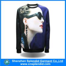 Sweats à capuche personnalisés hommes Fashion 3D Digital Sweatshirts