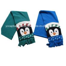 Polar macio Polar cachecol para crianças
