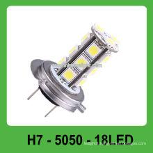 Epistar 5050 SMD 360 degree emitting color H7 led car fog light