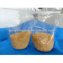 Knusprig gebratene Zwiebel gebratener Knoblauch aus der Fabrik