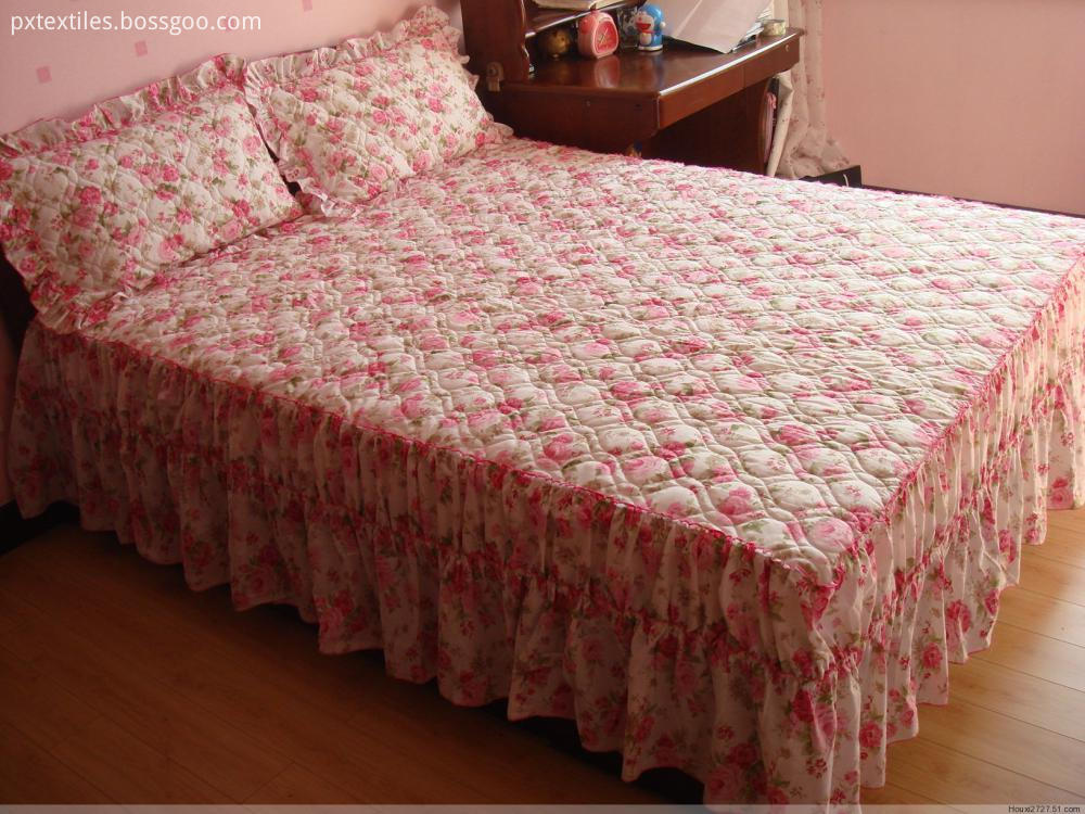 Fitted Bed Skirt for Home
