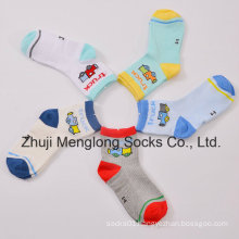 Good Handfeel Breathable Boys Mesh Cotton Socks