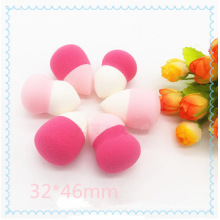 Two Color Cosmetic Puff Sponge Lovely Colorful Makeup Sponge Cosmetic Makeup Sponge for Cleaning Face