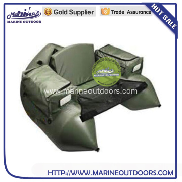 Inflatable fishing pontoon float tube belly boat, float tube
