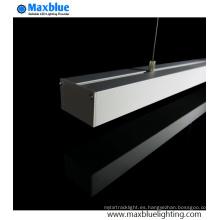1m 2m 50X32mm Extrusión de perfil de aluminio colgante
