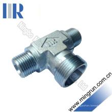 Métrique Mâle Mâle Type Réducteur T Adaptateur Hydraulique (AC)
