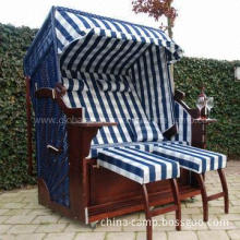 Roofed Beach Chair in Various Design and 170cm Height