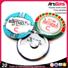 Artigifts Free Samples Cheap Customized tin Metal Button Badge