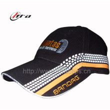Baseball Cap with Sandwich Logo Embroidery Caps Side Printing