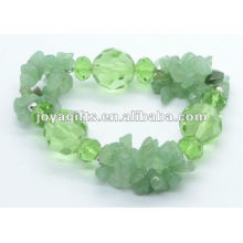 Grünes Aventurin Kristall Armband