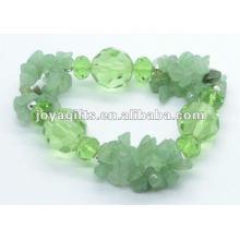 Зеленый Авантюрин Кристальный браслет