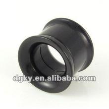 Stainless steel ear plug flesh tunnels ear gauge plugs body jewelry