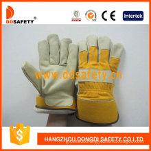 Ddsafety Pig Grain Leather Gloves Working Glove (DLP713)
