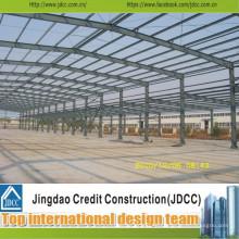 Hochwertige und professionelle vorfabrizierte Stahlkonstruktionswerkstatt