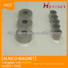 cast alnico thin ring magnet with hole