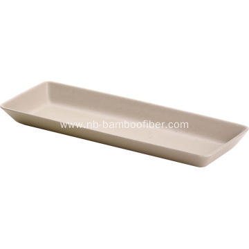 Multi-purpose Rectangular Cake Tray Dessert Tray Sushi Tray