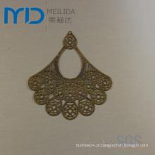 Venda Por Atacado Antique Copper Earrings Eardrops Slice