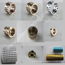 rolamento de manganês bronze, SPB506060 Bucha de rolamento, bucha de bucha de oleaginosas rolamento