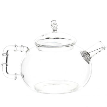 Good Quality for Manufacturers Supply New Type Glass Teapot, Glass Tea Kettle, Glass Tea Cups, Hand Blown Teapot Individual Cute Tea Pots Glass Tea Carafe 600ml Coffee Pots export to Uganda Suppliers