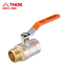 FXM thread Long handle forging brass ball valve