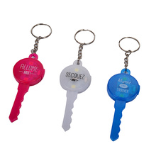 Newest item led Key light  keyring lights