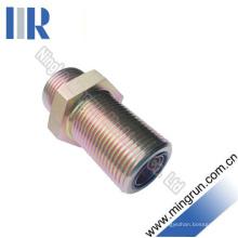 Connecteur de tube hydraulique de cloison étanche O-Ring mâle d'Orfs (6F)
