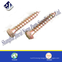 China Hot Sale DIN571 Wood Screw
