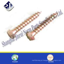 China venda quente DIN571 madeira parafuso