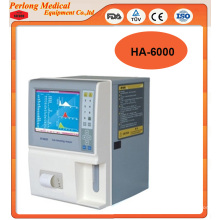2015 Top-Selling 3-Part Ha6000 Auto Hematology Analyzer
