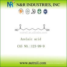 Ácido azelaico en polvo 99% CAS NO .: 123-99-9