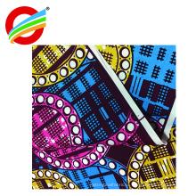 Современный стиль мода африканский реальный печатает воск ткани