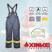 Safety working suit for firemen