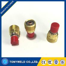 45v42 45v43 tig lente de soldagem de gás de wp9 tig gun