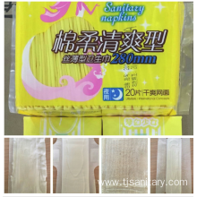 Hight Level Anion Sanitary Napkin for Rich Women