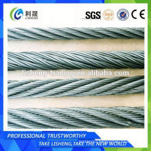 China Alibaba 8x19 Elevator Steel Wire Rope