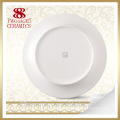 Wholesale banquet plate, hotel used dinner plates, porcelain dishes for restaurant