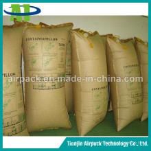 Bolsas de estiba de aire de papel resistentes a la humedad para contenedores