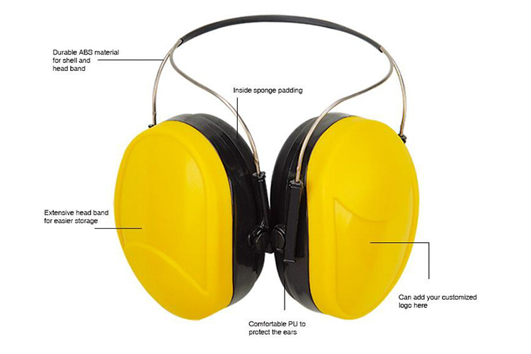 Safety Earmuff for Industrial