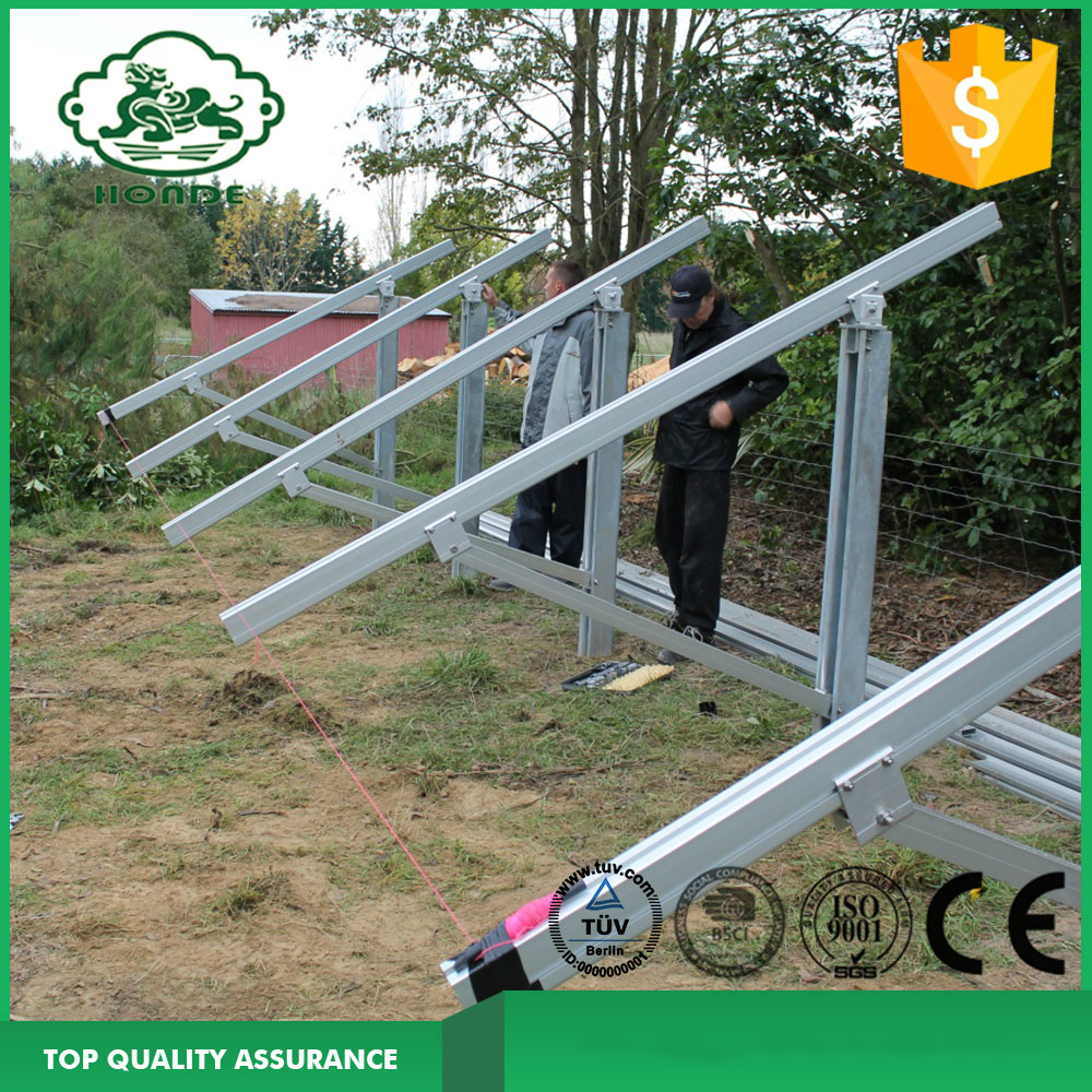 Ground Mount Solar Frames