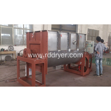 Dry Powder Mortar Horizontal Double Ribbed Mixer