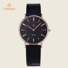 Modische Japan Movt Qualität Lederband Uhren 72334